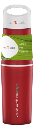 BE-O-bottle-rood-waterfles-bedrukt-relatiegeschenk-ASN-Bank